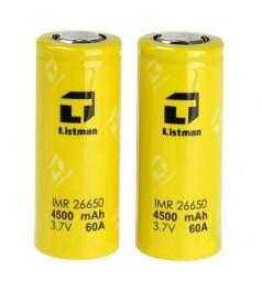 Batterie Listman 26650 4200mah 60A