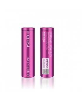 Pack 2 accus Efest IMR18650 3500mah 20A