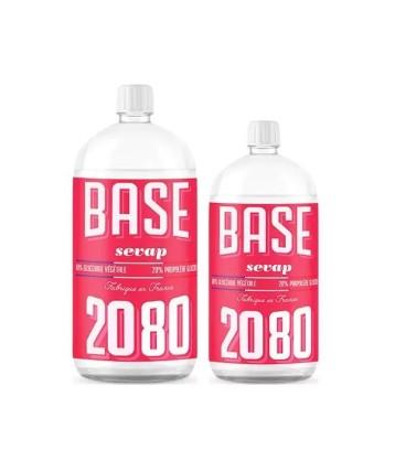Base 20PG / 80VG Sevap fabriqué par Sevap de Base e-liquide pour le DIY