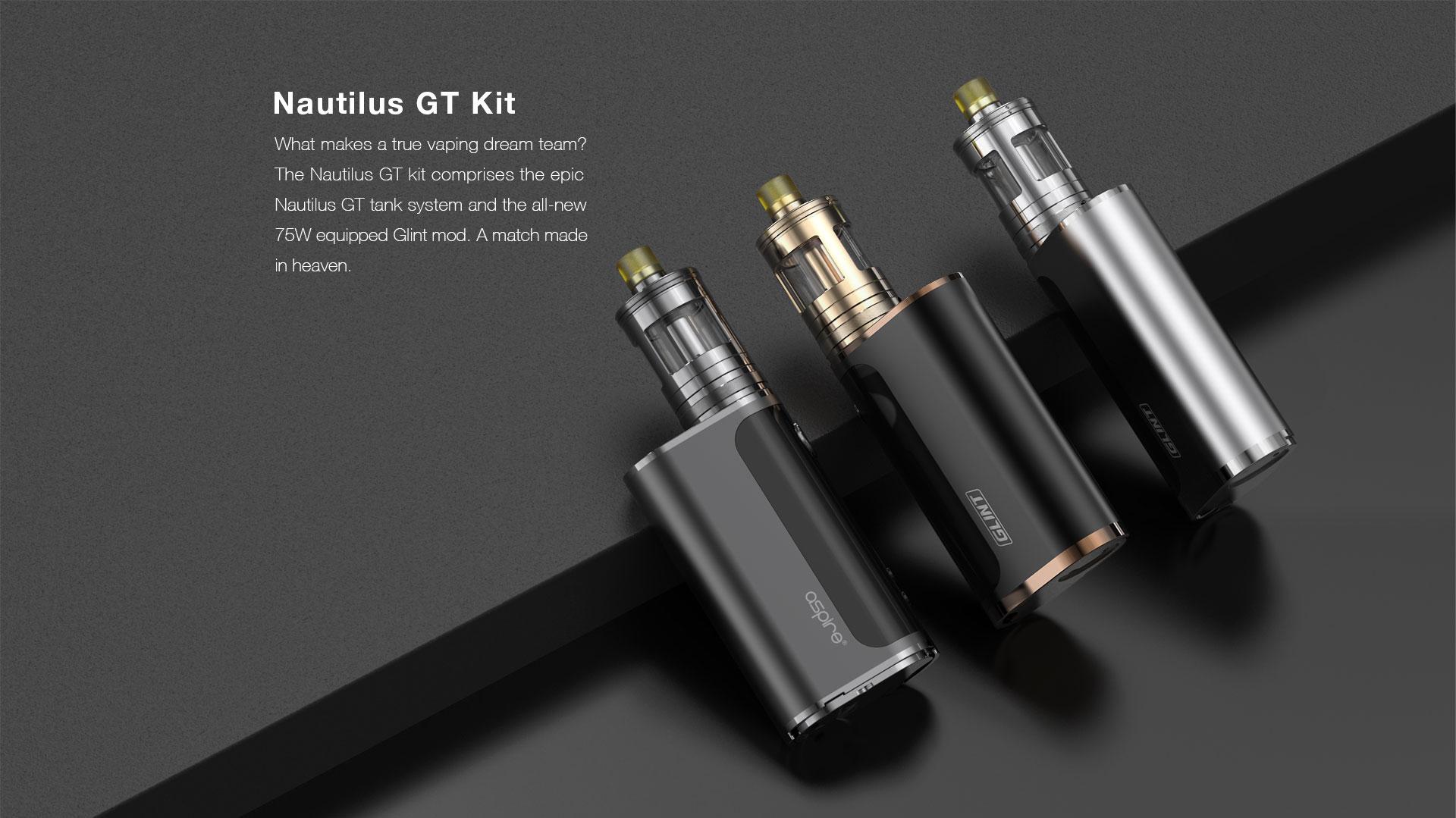 Pack Nautilus GT 75W Aspire