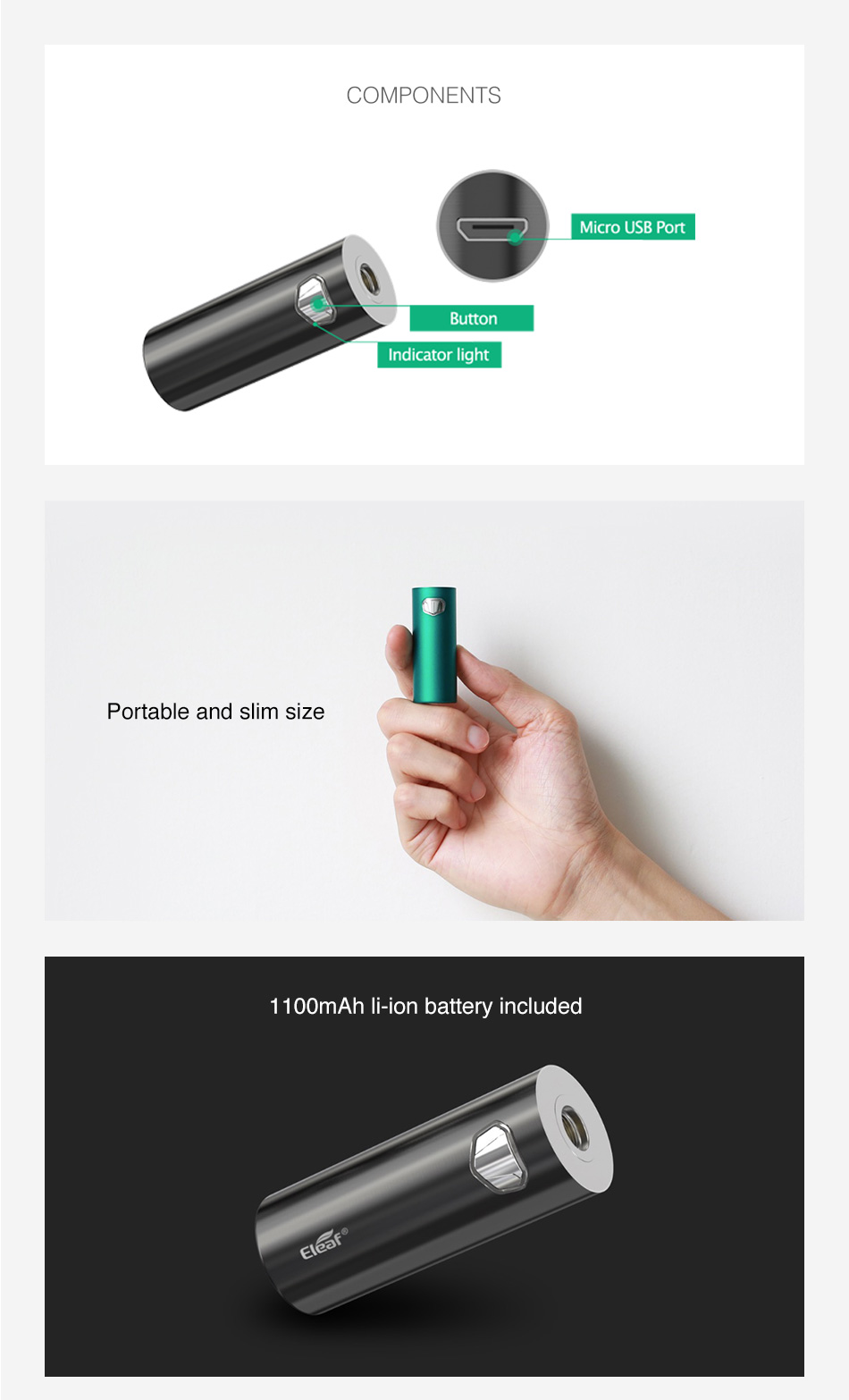 Batterie iJust Mini Eleaf