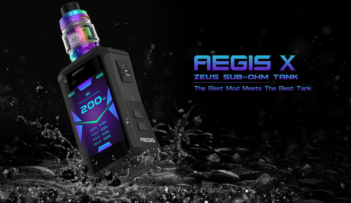 Pack Aegis X Zeus Sub-Ohm Tank Geekvape
